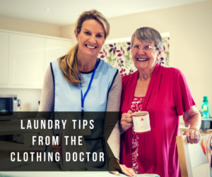 Laundry tips from the clothing doctor