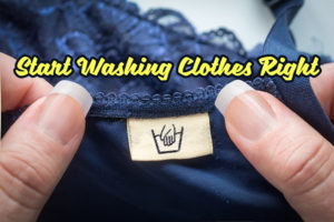 Start Washing Clothes Right