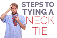 Steps To Tying A Neck Tie