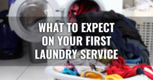 What to Expect on Your First Laundry Service