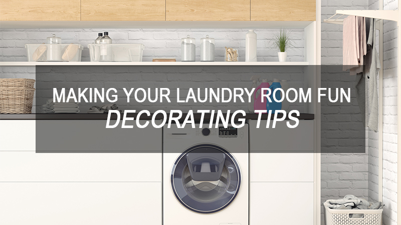 Making Your Laundry Room Fun: Decorating Tips | Willette\'s ...